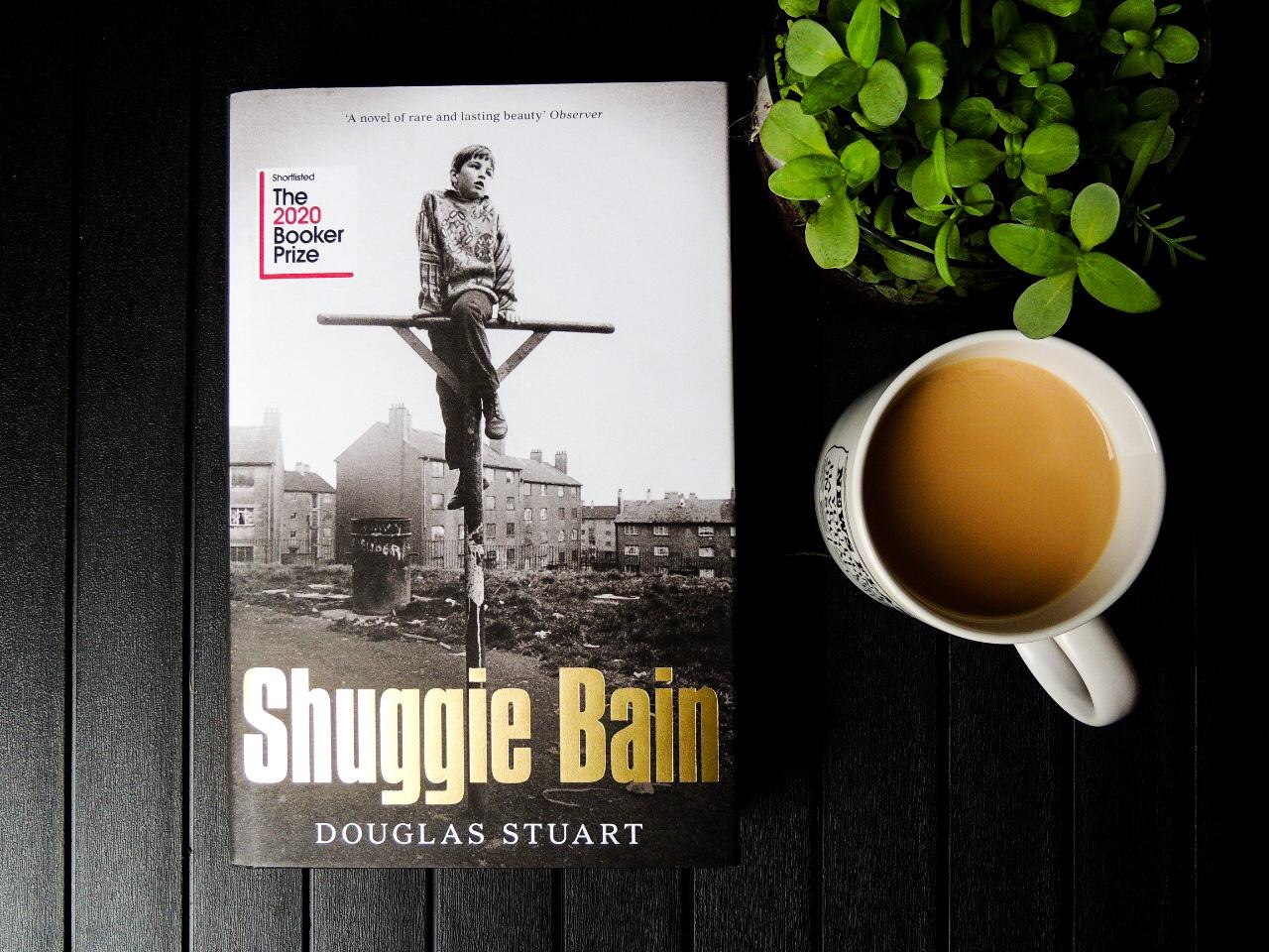image of the book cover for Shuggie Bain